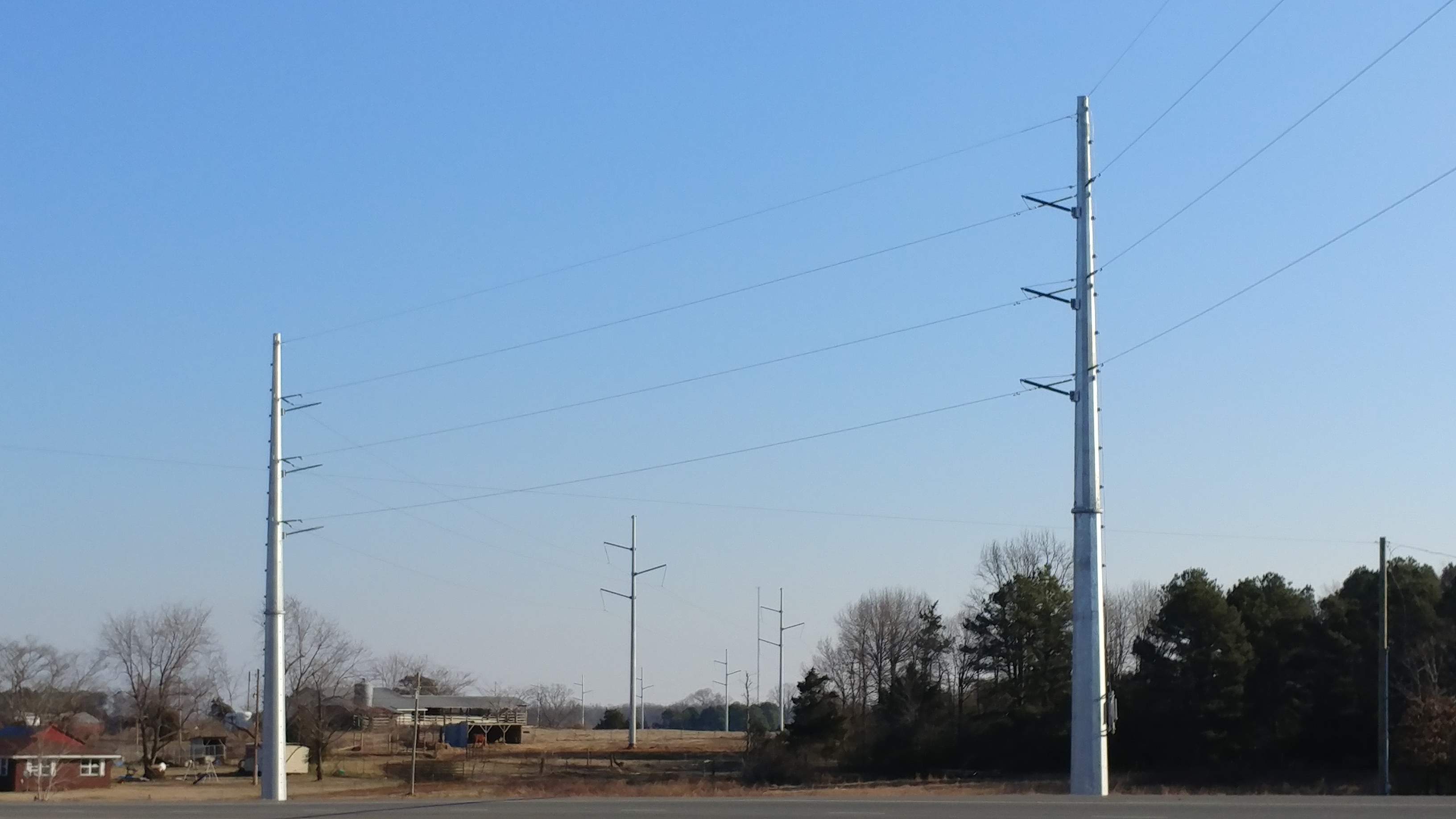 Bee Branch – Damascus 161KV Transmission Line