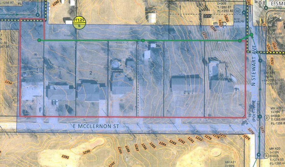City of Springfield Department of Environmental Services- McClernon & Washita Street Sewer Extensions